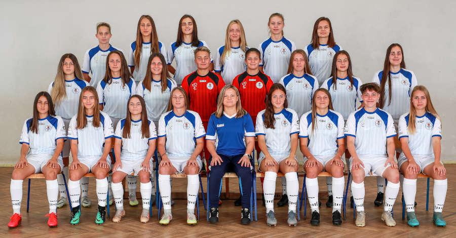 Zdjęcie grupowe I ligi kobiet